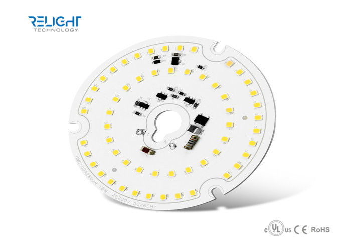 High Lumen D100mm 16W 230V CRI90 Led Lighting Modules 90-100LM/W